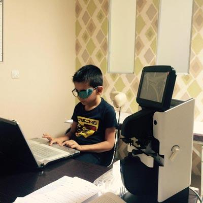 تنبلی چشم - کلینیک چشم پزشکی اصفهان